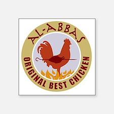 """pal-chicken Square Sticker 3"""" x 3"""""""