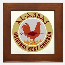 pal-chicken Framed Tile
