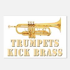 trumpetskickbrass_2_dark Postcards (Package of 8)