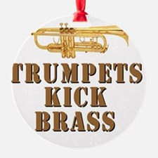 trumpetskickbrass_2_smalls Ornament