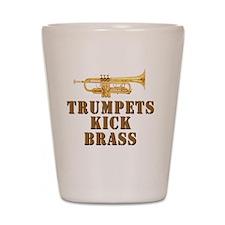 trumpetskickbrass_2_smalls Shot Glass