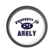 Property of arely Wall Clock