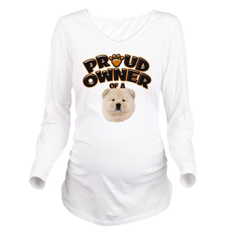 Proud Owner of a Cho Long Sleeve Maternity T-Shirt