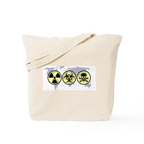 World hazards Tote Bag