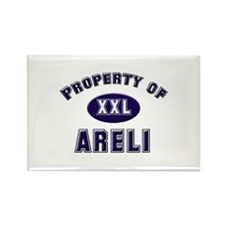 Property of areli Rectangle Magnet