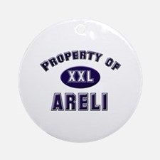 Property of areli Ornament (Round)