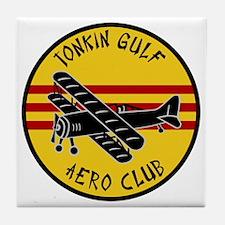 Tonkin Aero Club Tile Coaster