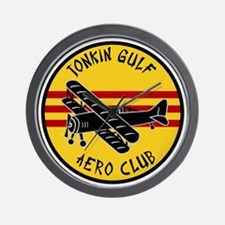 Tonkin Aero Club Wall Clock