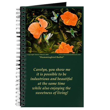 Carolyn's H'bird Journal