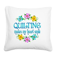 QUILT Square Canvas Pillow