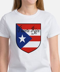 Puerto Rico Flag Shield Tee