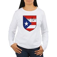 Puerto Rico Flag Shield T-Shirt