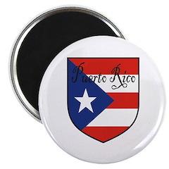 Puerto Rico Flag Shield 2.25