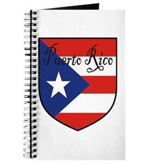 Puerto Rico Flag Shield Journal