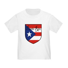 Puerto Rico Flag Shield T