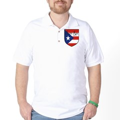 Puerto Rico Flag Shield T-Shirt