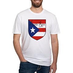 Puerto Rico Flag Shield Shirt