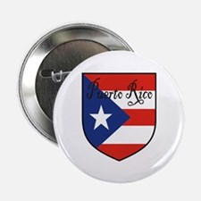 "Puerto Rico Flag Shield 2.25"" Button (10 pack)"