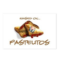 Raised on... Pastelitos Postcards (Package of 8)