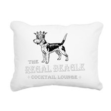 Regal Beagle Rectangular Canvas Pillow