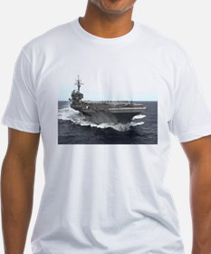 USS kitty Hawk CV63 Under Way shirt T-Shirt