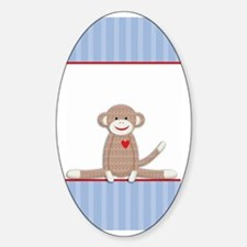 Sock Monkey iPhone case Decal