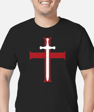 SwordCross_8x10_ctext T-Shirt