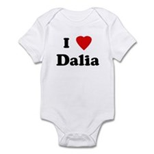 I Love Dalia Infant Bodysuit