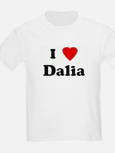 I Love Dalia Kids T-Shirt