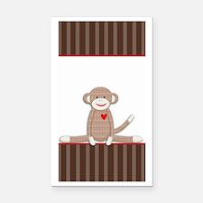Sock Monkey iphone case Rectangle Car Magnet