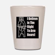 bear gund Shot Glass