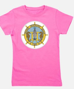 2 CruDesGru Cruiser Destroyer Group Two Girl's Tee