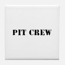 Pit Crew (Original) Tile Coaster