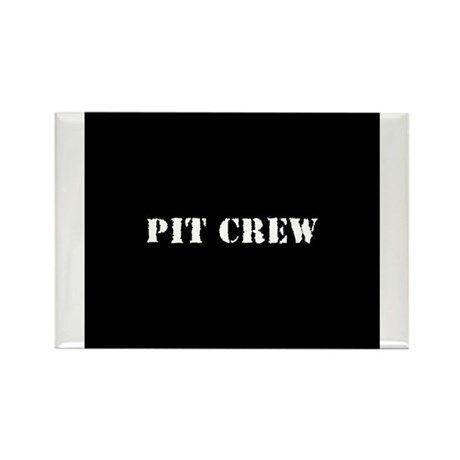 Pit Crew (Original) Rectangle Magnet