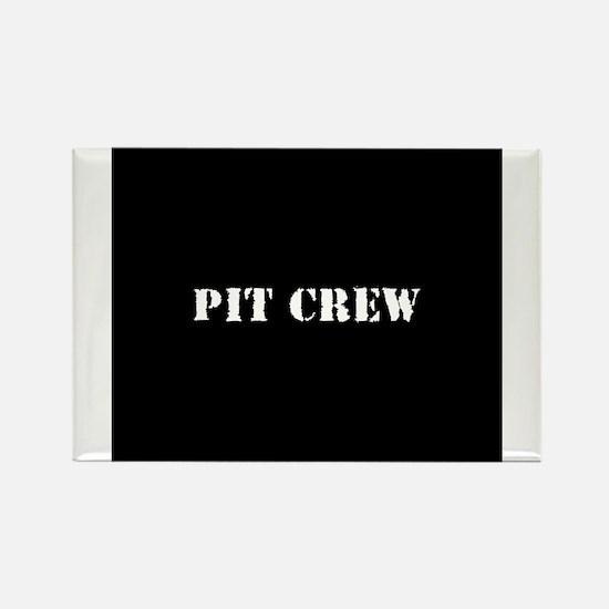 Pit Crew (Original) Rectangle Magnet