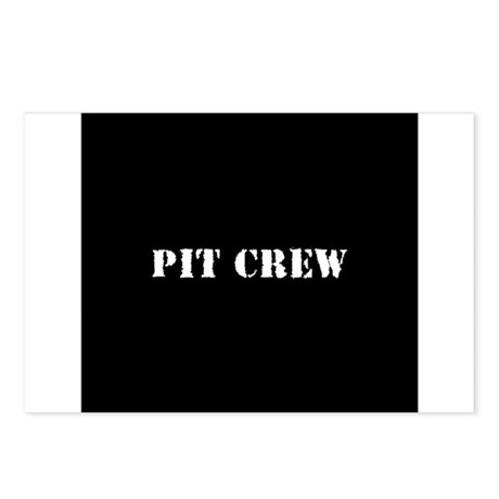 Pit Crew (Original) Postcards (Package of 8)