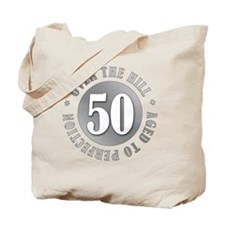50th Birthday Over The Hill Tote Bag