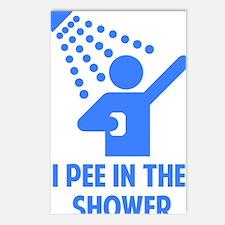 showerPee3 Postcards (Package of 8)