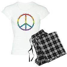 peace chain vivid Pajamas