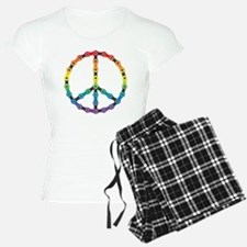 peace chain vivid Pajamas