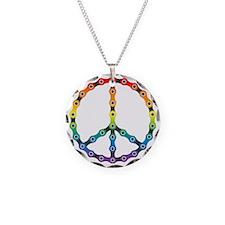 peace chain vivid Necklace
