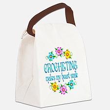 CROCHET Canvas Lunch Bag