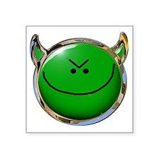 """MHI Logo 1a Square Sticker 3"""" x 3"""""""