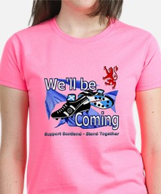 Well be Coming stand together Tee