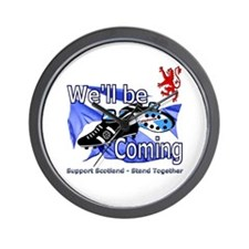 Well be Coming stand together Wall Clock