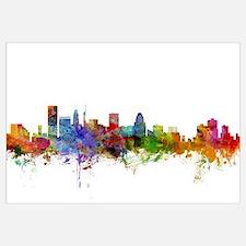 Cute Skylines Wall Art