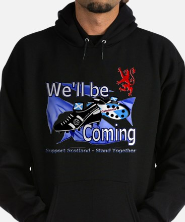 Well be Coming stand together Hoodie (dark)