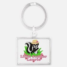 laurie-g-stinker Landscape Keychain