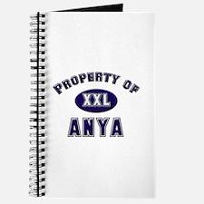 Property of anya Journal