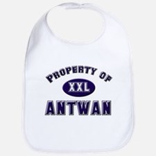 Property of antwan Bib